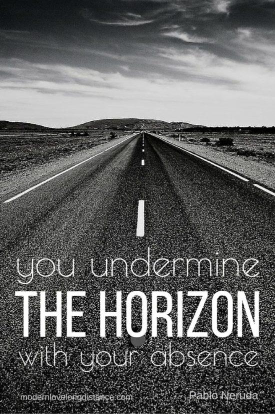 undermine the horizon