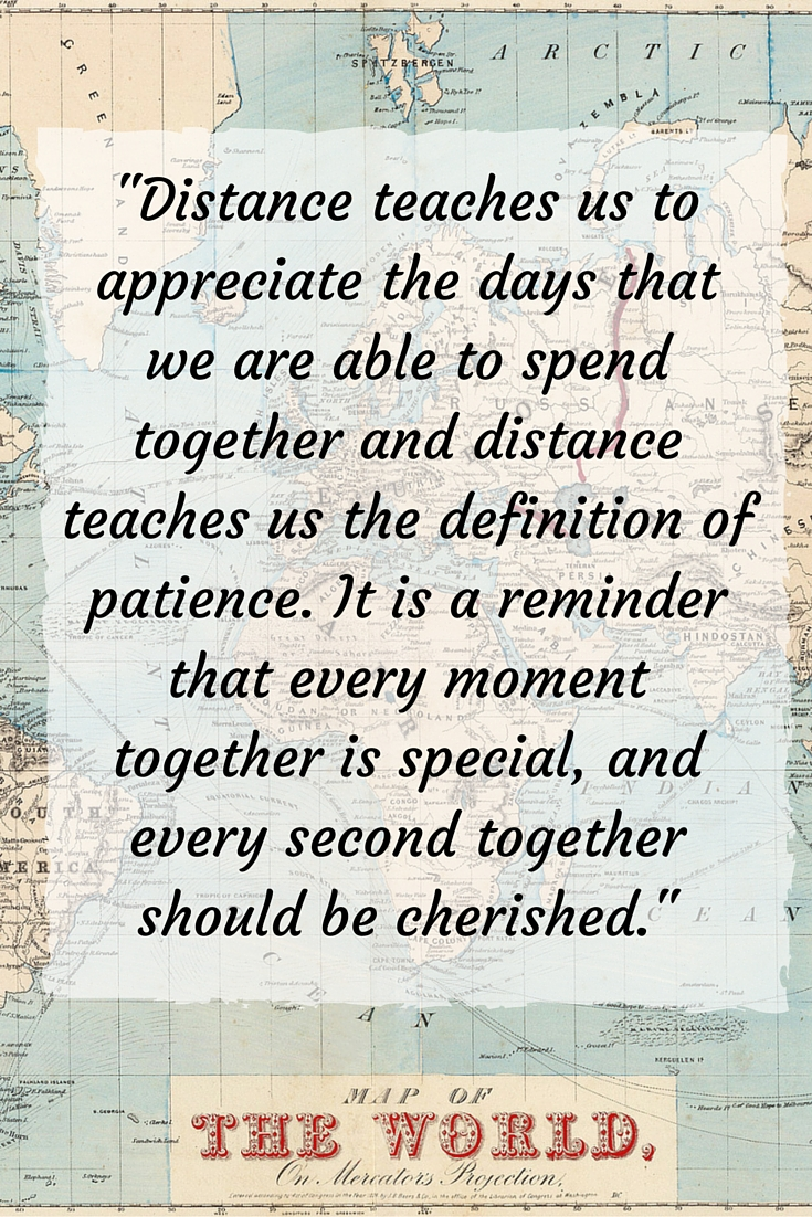 Why time apart best way stay together