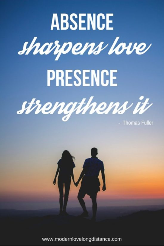 absence sharpens love