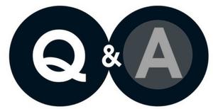 Q&A Q white