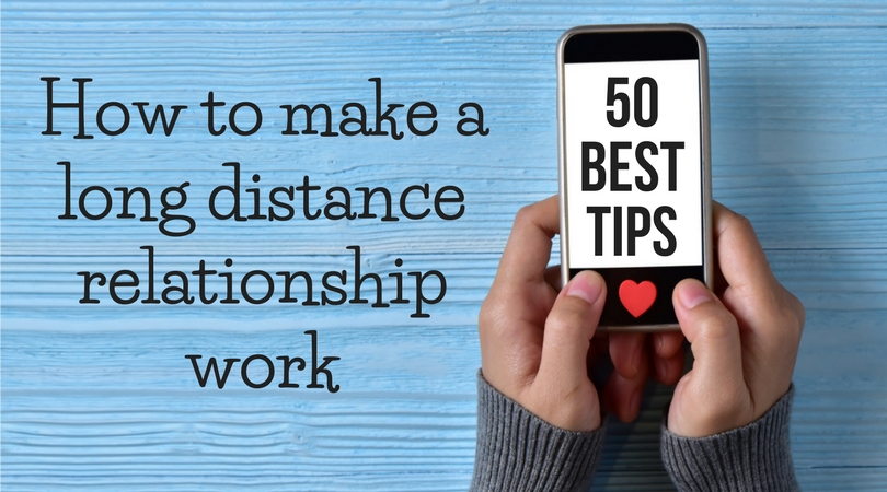 Distance relationship text
