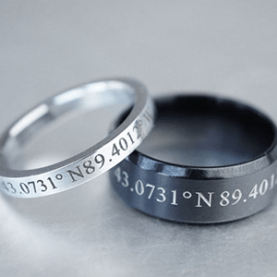 9806f95301 You can also choose a matching set of rings or just one for your beloved.  Either way, this will be one of the sincerest gifts you could give them.