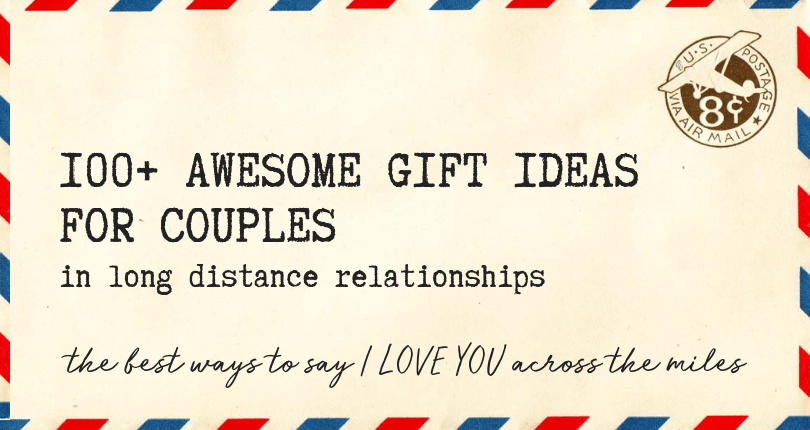 Long distance relationship gift ideas for him