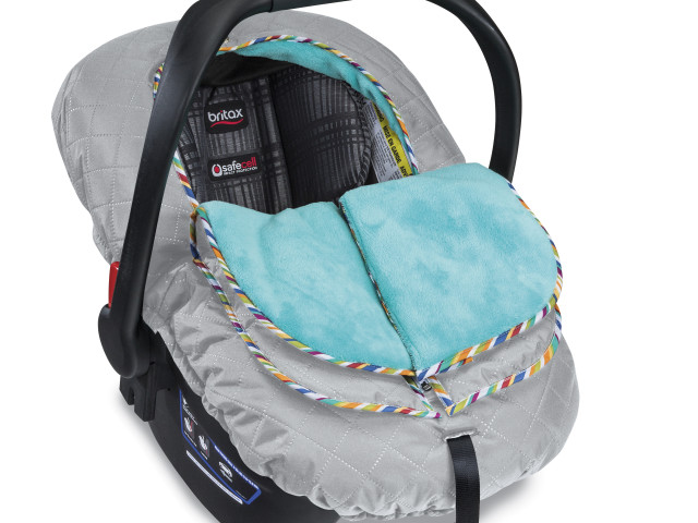 New!: Britax B-Warm Insulated Infant Car Seat Cover and #Giveaway