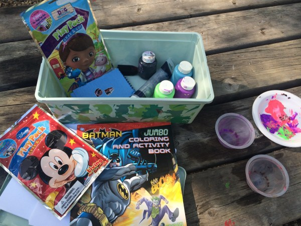 Activities to keep camping kids busy!
