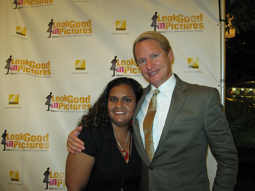 Modern Mami and Carson Kressley - Nikon Night Out - BlogHer09