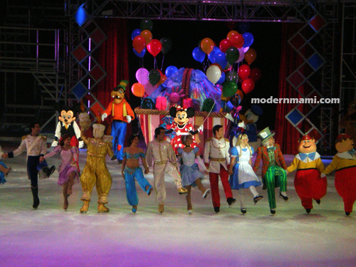 Disney on Ice characters