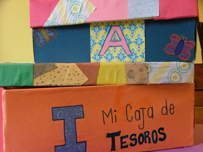 Treasure Box - Caja de Tesoros Kids Activity