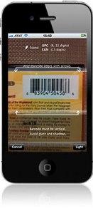 ebay Mobile app barcode scanning