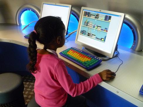 Disney's Oceaneer Club Computers