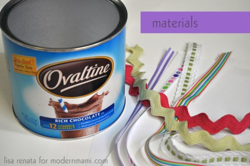Materials to Make Your Own Easter Basket