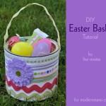 DIY Easter Basket {Kids Craft}