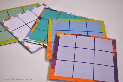 How To Make Easter Tic Tac Toe Game Board for Kids