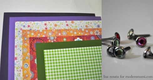 Materials Needed for Homemade Mother's Day Card Craft for Kids