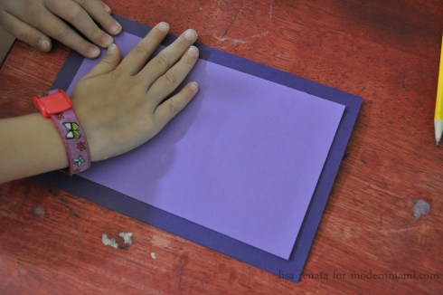 Folding Card - Homemade Mother's Day Card Craft for Kids