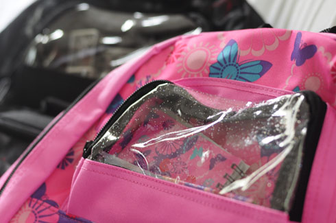 Backpack for School with Mini Stationary Included