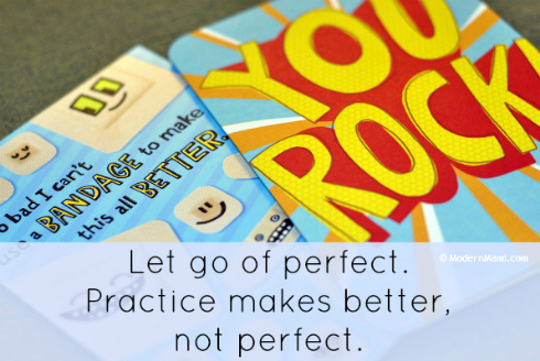 Practice Makes Better...not Perfect