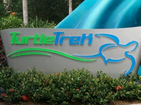 TurtleTrek attraction at SeaWorld Orlando