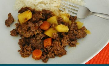 Puerto Rican Carne Molida (Picadillo Style Ground Beef) {Recipe}