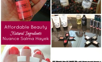 Affordable Beauty Products with Natural Ingredients from Nuance Salma Hayek