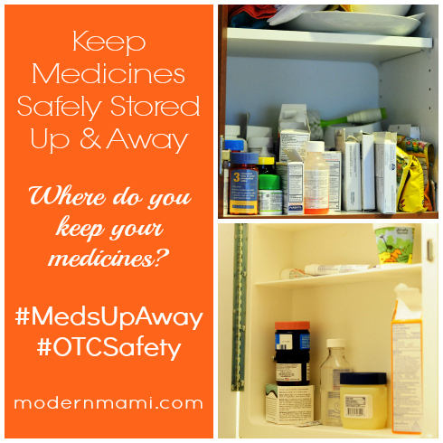Keep Medicines Safely Stored Up and Away