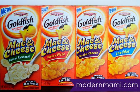 Pepperidge Farm Goldfish Mac & Cheese Product Review