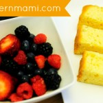 Easy & Delicious Grilled Poundcake with Mixed Berry Sauce {Recipe}
