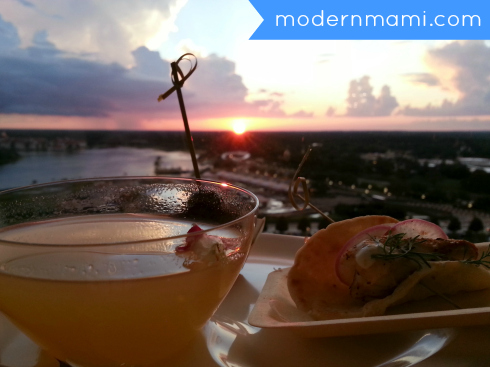 Beautiful View of Magic Kingdom from California Grill Atop Disney's Contemporary Resort