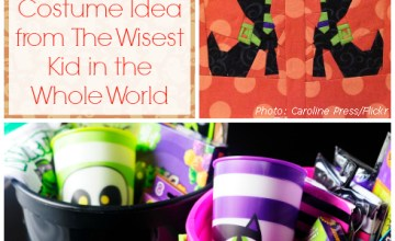 Halloween Traditions and a Halloween Costume Idea from The Wisest Kid in the Whole World {Video}