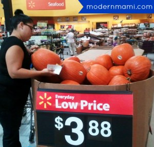 Fresh Pumpkins for Fall at Walmart