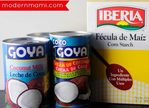 Tembleque Recipe Ingredients