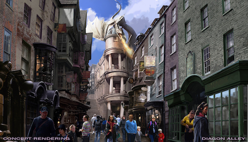Diagon Alley, Wizarding World of Harry Potter, Universal Orlando