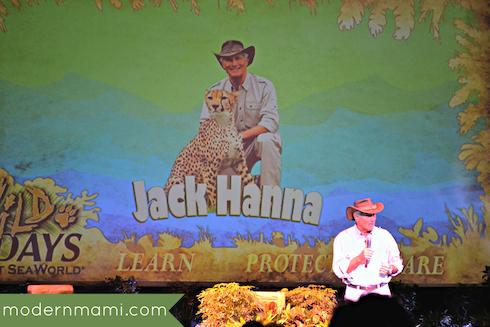 Jack Hanna, Wild Days at SeaWorld Orlando