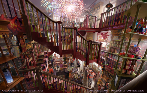 Weasleys' Wizard Wheezes, Diagon Alley Wizarding World of Harry Potter, Universal Orlando