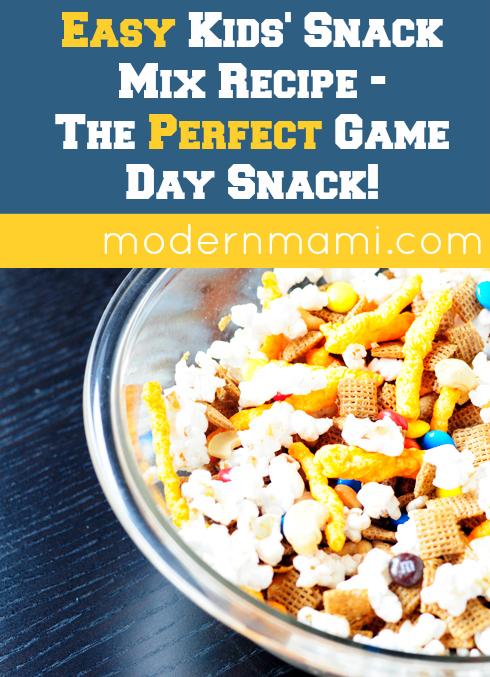 Easy Kids' Snack Mix Recipe