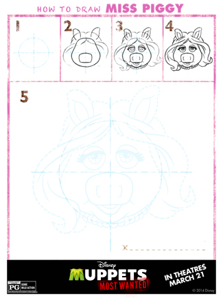 Disney's Muppets Most Wanted Free Printables and Activity