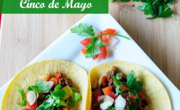 Tacos de Carne Molida: Simple Ground Beef Tacos for Cinco de Mayo! {Recipe}