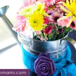 Easy Watering Can Centerpiece for Spring {Craft}