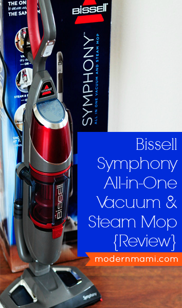 Bissell Symphony All-in-One Vacuum and Steam Mop Review