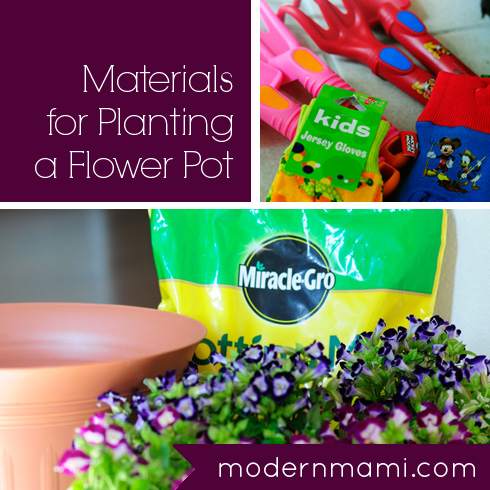 225 & 5 Tips for Gardening with Kids \u0026 How to Plant a Flower Pot ...