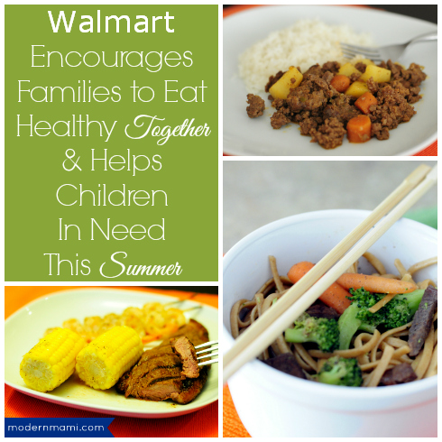 Walmart Eat Healthy Together Challenge