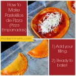 Fun After-School Snack Idea: Pastelillos de Pizza (Pizza Empanadas) {Recipe}