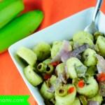 Guineos en Escabeche (Puerto Rican Green Banana Salad): Great Thanksgiving Side Dish Idea! {Recipe}
