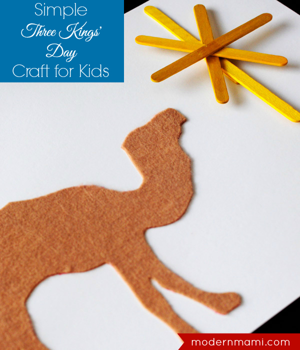 Three Kings' Day Craft for Kids