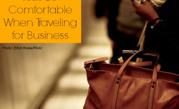 Helping Kids Be Comfortable When Traveling for Business: 5 Tips for Working Moms
