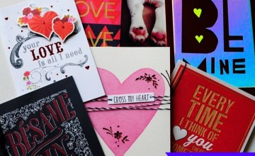 Show Your Love this Valentine's Day & #PutYourHeartToPaper! {Giveaway}