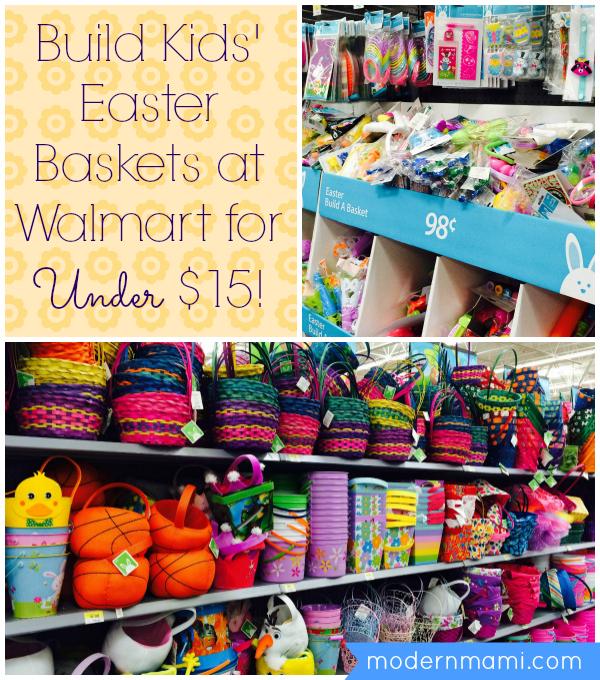 Custom kids easter baskets under 15 modernmami kids easter baskets under 15 negle Choice Image