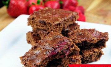 Easy & Delicious Fresh Berry Brownies {Recipe}