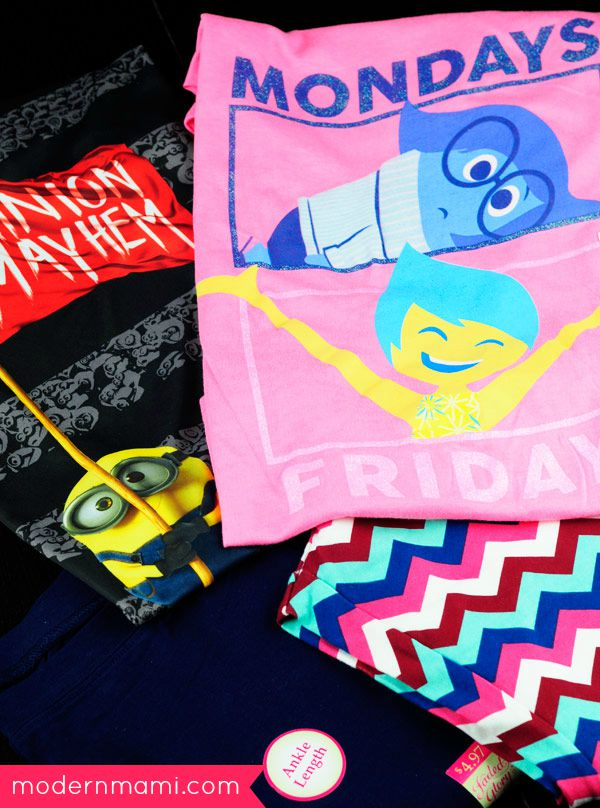 Back to School Clothes: Character Shirts