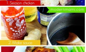 Easy Game Time Recipe: Sriracha Teriyaki Wings {Recipe}